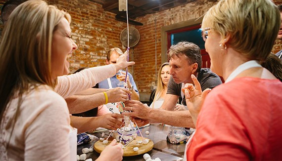 New Orleans Team Building | New Orleans School of Cooking | New